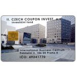The Phonecard Shop: Czech Republic, SPT Telecom – Czech Coupon Invest, 50 units