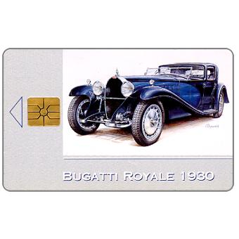 Phonecard for sale: SPT Telecom – Bugatti Royale 1930, 150 units