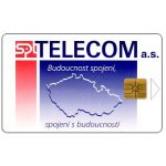 The Phonecard Shop: Czech Republic, SPT Telecom – Map, 50 units