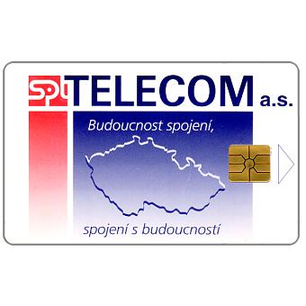 Phonecard for sale: SPT Telecom – Map, 50 units