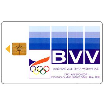 Phonecard for sale: SPT Telecom – BVV, official sponsor Olympic Team, 50 units
