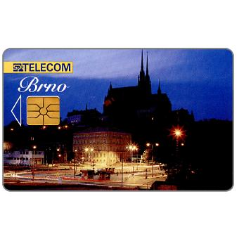 Phonecard for sale: SPT Telecom – Brno by night, 50 units