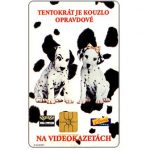 The Phonecard Shop: Czech Republic, SPT Telecom – Disney's 101 Dalmatians, 50 units