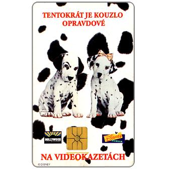 Phonecard for sale: SPT Telecom – Disney's 101 Dalmatians, 50 units