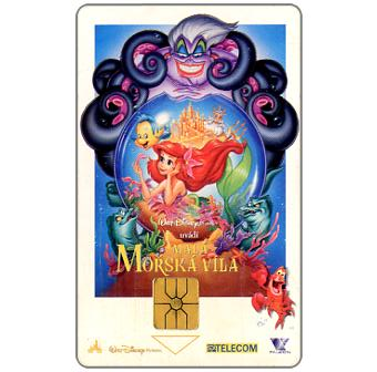 Phonecard for sale: SPT Telecom – Disney's The Little Mermaid, 50 units