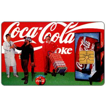 Phonecard for sale: City Card - Coca-Cola, 150 Kc