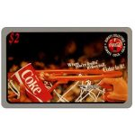 The Phonecard Shop: Score Board - Coca-Cola, Coke is it!, Basketball, $2