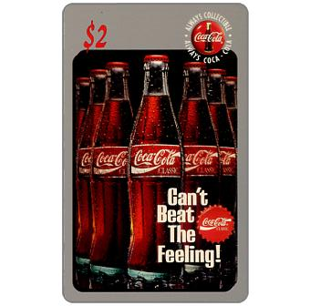 Phonecard for sale: Score Board - Coca-Cola, Can't Beat the Feeling, $2
