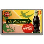 The Phonecard Shop: U.S.A., Score Board - Coca-Cola, Be Refreshed, $2