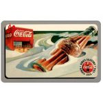 The Phonecard Shop: Score Board - Coca-Cola, Snow Scene, $2