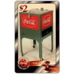 The Phonecard Shop: Score Board - Coca-Cola, 1929 Cooler, $2