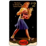 The Phonecard Shop: Score Board - Coca-Cola, 1944 - The Best is always Better, $2