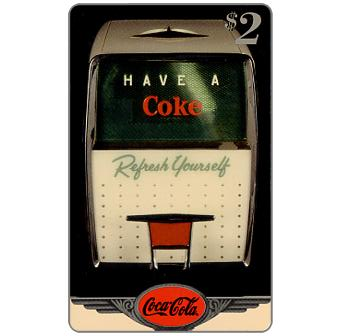 Phonecard for sale: Score Board - Coca-Cola, Have a Coke, $2