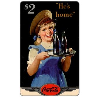 Phonecard for sale: Score Board - Coca-Cola, 1944 Original Art, $2