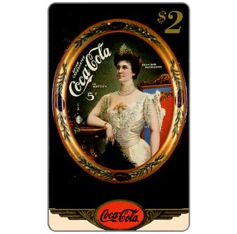 Phonecard for sale: Score Board - Coca-Cola, 1950's Serving Tray, $2