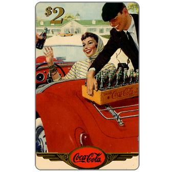 Phonecard for sale: Score Board - Coca-Cola, 1959 Original Art, $2