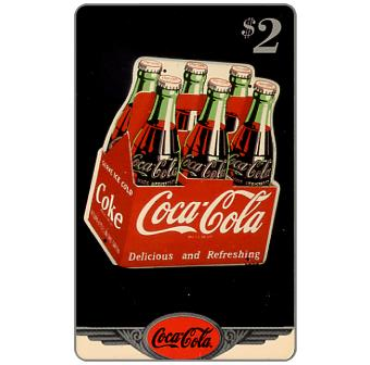 Phonecard for sale: Score Board - Coca-Cola, Porcelain sign