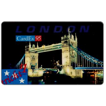 Phonecard for sale: ACMI - Cardex 95 Puzzle 2/4, London, $1