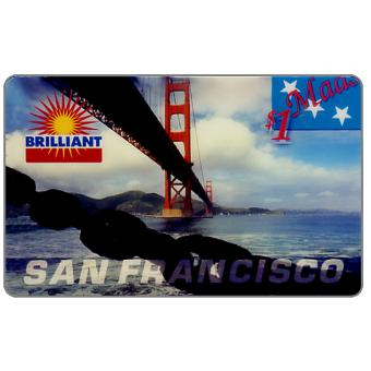 Phonecard for sale: ACMI - Cardex 95 Puzzle 4/4, San Francisco, $1