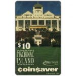 The Phonecard Shop: Ameritech - Mackinac Island, Michigan, $10
