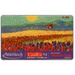 The Phonecard Shop: U.S.A., Ameritech - Cardex 94, $.40