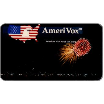 Amerivox - Fireworks over D.C., Business card size, $10/$100
