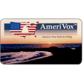 Amerivox - Ocean Sunset, Business card size, $10/$100