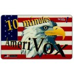 The Phonecard Shop: U.S.A., Amerivox - Eagle and flag, 10 minutes