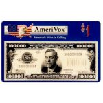 The Phonecard Shop: Amerivox - $100.000 banknote, $1