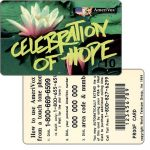The Phonecard Shop: Amerivox - Celebration Of Hope, PROOF CARD, $10