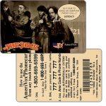 The Phonecard Shop: U.S.A., Amerivox - The Three Stooges, TEST CARD, $21