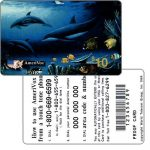 The Phonecard Shop: U.S.A., Amerivox - Wyland Whales series 1, The Living Reef, PROOF CARD, $10