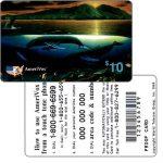 The Phonecard Shop: U.S.A., Amerivox - Wyland Whales series 1, Maui Dawn, PROOF CARD, $10