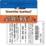 The Phonecard Shop: U.S.A., Amerivox - Beetle Bailey, lineup of 14 Characters, PROOF CARD, $5