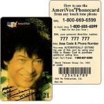 The Phonecard Shop: U.S.A., Amerivox - Nyson II, Eagle On Top of Roman Temple, TEST CARD, $5