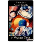 The Phonecard Shop: U.S.A., Amerivox - Success Ace of Worlds - Voyager Tarot