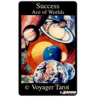 Amerivox - Success Ace of Worlds - Voyager Tarot