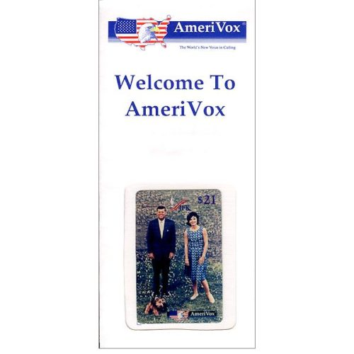 Amerivox - John & Jackie Kennedy On Lawn (in sealed envelope), $21