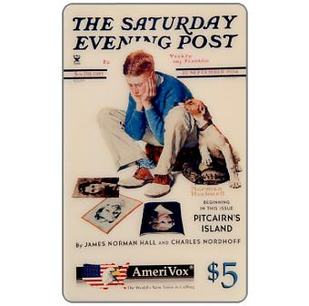 Amerivox - The Saturday Evening Post by Norman Rockwell, Starstruck, $5