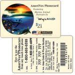 The Phonecard Shop: U.S.A., Amerivox - Wyland Marine Animals, Dolphin Days, TEST CARD, $21