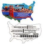 The Phonecard Shop: U.S.A., Amerivox - International Phone Card Expo, San Francisco, die-cut, TEST CARD, $5