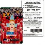 The Phonecard Shop: U.S.A., Amerivox - Cardex 95 'Dutch Dreams', TEST CARD, $1