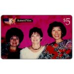 The Phonecard Shop: Amerivox - Tre Donne Belle, $5