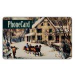 The Phonecard Shop: U.S.A., Citybank - Winter, old print