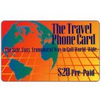 The Phonecard Shop: U.S.A., CNC - The Travel Phone Card, $20