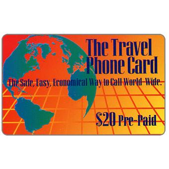 CNC - The Travel Phone Card, $20