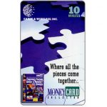 The Phonecard Shop: U.S.A., Cable & Wireless - MoneyCard Collector, 10 minutes