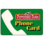 The Phonecard Shop: U.S.A., Frontier Communications - Pepperidge Farm