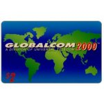 The Phonecard Shop: Globalcom 2000 - Third issue definitive, $2