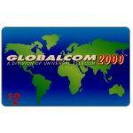 The Phonecard Shop: U.S.A., Globalcom 2000 - Third issue definitive, $2